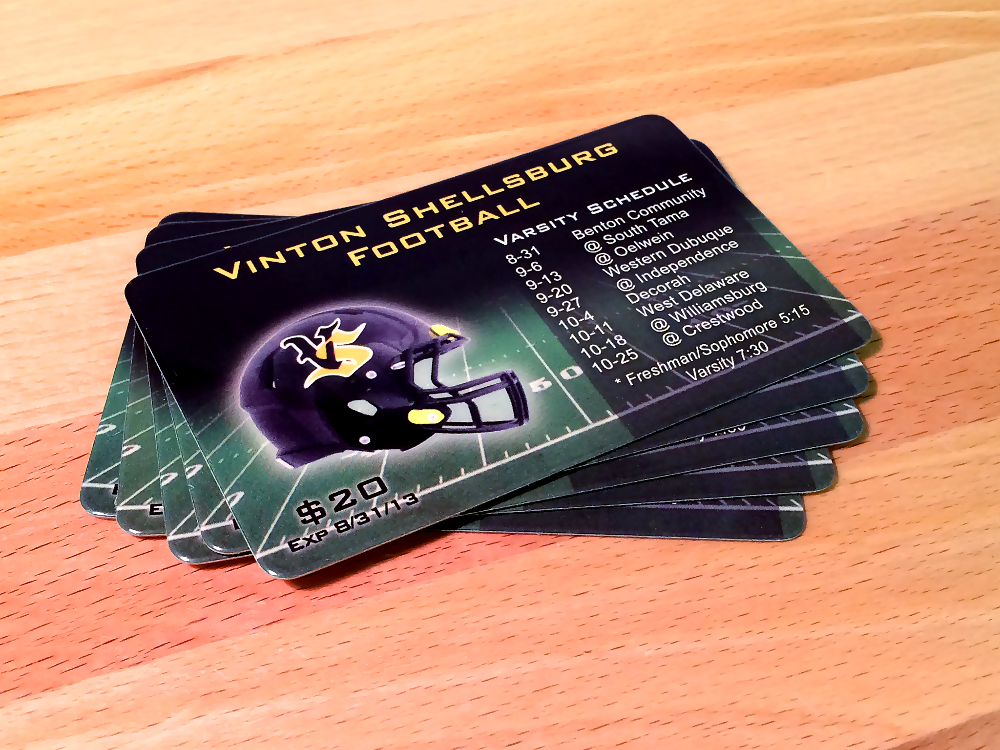 Fundraising cards duracard plastic cards fundraising card gallery reheart Choice Image